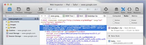 Safari-Web-Inspector