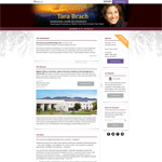 Screenshot of the microsite Home page at 1920px wide.